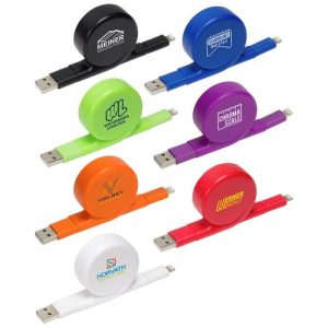 All-In-One Retractable Charging Cable - Group