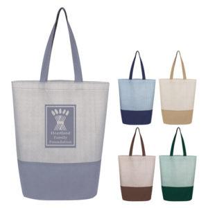 Herringbone Non-Woven Tote Bag