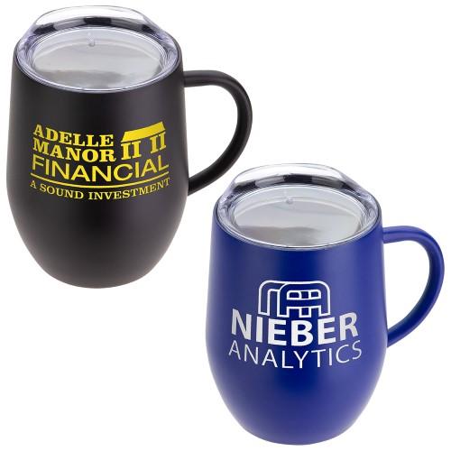 12 Oz. Vacuum Insulated Coffee Mug