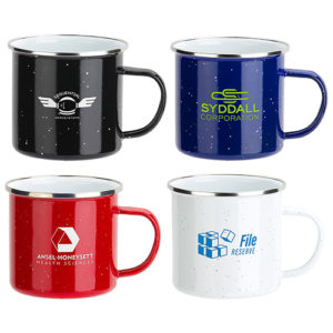 16oz Enamel-Lined Iron Coffee Mug